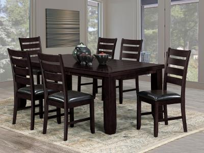 Oakley 7 PC Dining Set by Midha's Furniture Serving Brampton, Mississauga, Etobicoke, Toronto, Scraborough, Caledon, Cambridge, Oakville, Markham, Ajax, Pickering, Oshawa, Richmondhill, Kitchener, Hamilton and GTA area