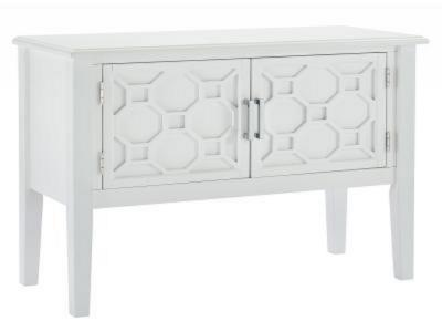 PRESTON-CONSOLE/CABINET-WHITE by Midha's Furniture Serving Brampton, Mississauga, Etobicoke, Toronto, Scraborough, Caledon, Cambridge, Oakville, Markham, Ajax, Pickering, Oshawa, Richmondhill, Kitchener, Hamilton and GTA area