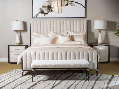 Paris (King Bed Only) by Midha's Furniture Serving Brampton, Mississauga, Etobicoke, Toronto, Scraborough, Caledon, Cambridge, Oakville, Markham, Ajax, Pickering, Oshawa, Richmondhill, Kitchener, Hamilton and GTA area