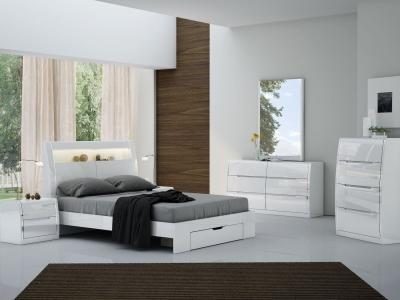 K-Living Phoebe Modern Queen Bed with LED Lights by Midha's Furniture Serving Brampton, Mississauga, Etobicoke, Toronto, Scraborough, Caledon, Cambridge, Oakville, Markham, Ajax, Pickering, Oshawa, Richmondhill, Kitchener, Hamilton and GTA area