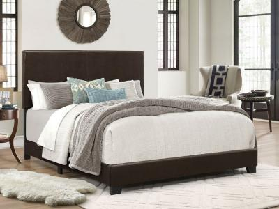 K-Living Ramon Stylish Queen Bed in PU Upholstery by Midha's Furniture Serving Brampton, Mississauga, Etobicoke, Toronto, Scraborough, Caledon, Cambridge, Oakville, Markham, Ajax, Pickering, Oshawa, Richmondhill, Kitchener, Hamilton and GTA area