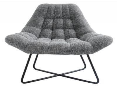 SHELBY-ACCENT CHAIR-GREY BLEND