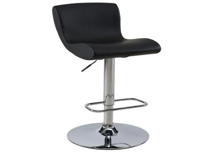 SILVIO-GAS LIFT STOOL-BLACK