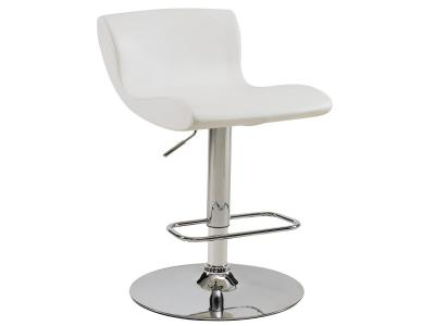 SILVIO-GAS LIFT STOOL-WHITE