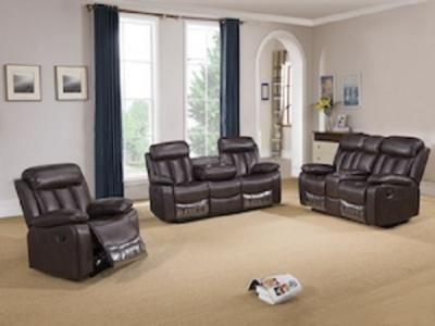 SOMERTON CHOCOLATE Sectionals & Recliners