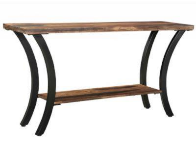 SURIN-CONSOLE TABLE-NATURAL/GREY 2-TONE by Midha's Furniture Serving Brampton, Mississauga, Etobicoke, Toronto, Scraborough, Caledon, Cambridge, Oakville, Markham, Ajax, Pickering, Oshawa, Richmondhill, Kitchener, Hamilton and GTA area