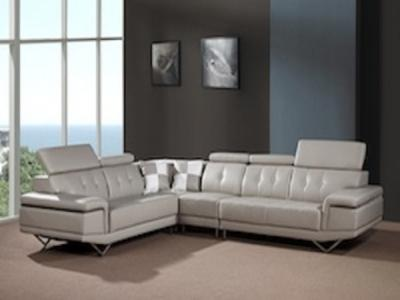 SYDNEY SECTIONAL  GREY Sectionals & Recliners