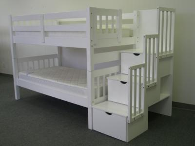 Serral Bunk Bed White