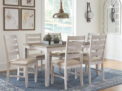 Skempton 7 PC Dining Room Table Set