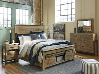 Sommerfield 6 PC Bedroom Set by Midha's Furniture Serving Brampton, Mississauga, Etobicoke, Toronto, Scraborough, Caledon, Cambridge, Oakville, Markham, Ajax, Pickering, Oshawa, Richmondhill, Kitchener, Hamilton and GTA area