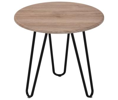 TARIO-ACCENT TABLE-NATURAL/BLACK