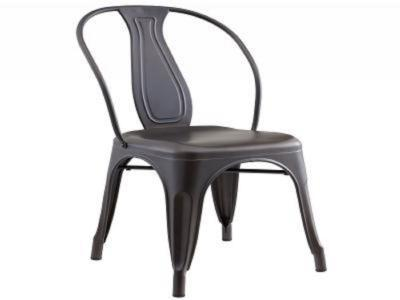 TIVO-SIDE CHAIR-GUNMETAL by Midha's Furniture Serving Brampton, Mississauga, Etobicoke, Toronto, Scraborough, Caledon, Cambridge, Oakville, Markham, Ajax, Pickering, Oshawa, Richmondhill, Kitchener, Hamilton and GTA area