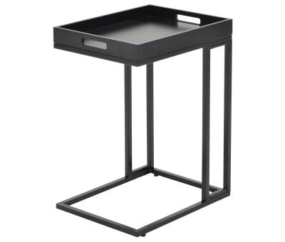 TOBINA-ACCENT TABLE-BLACK