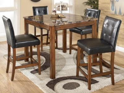 Theo 5 PC Square Counter Table Set