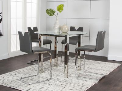 Tomasso Dining Set by Midha's Furniture Serving Brampton, Mississauga, Etobicoke, Toronto, Scraborough, Caledon, Cambridge, Oakville, Markham, Ajax, Pickering, Oshawa, Richmondhill, Kitchener, Hamilton and GTA area