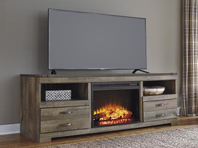 Trinell TV Stand w/Fireplace Option by Midha's Furniture Serving Brampton, Mississauga, Etobicoke, Toronto, Scraborough, Caledon, Cambridge, Oakville, Markham, Ajax, Pickering, Oshawa, Richmondhill, Kitchener, Hamilton and GTA area