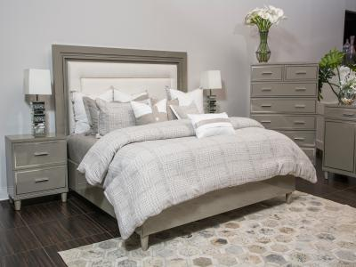 Urban Palace King Size Bed Only by Midha's Furniture Serving Brampton, Mississauga, Etobicoke, Toronto, Scraborough, Caledon, Cambridge, Oakville, Markham, Ajax, Pickering, Oshawa, Richmondhill, Kitchener, Hamilton and GTA area