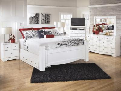 Weeki  5 PC Bedroom Set with storage