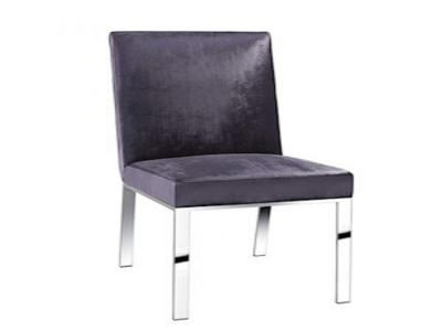 Wellington Charcoal Velvet Dining Chair