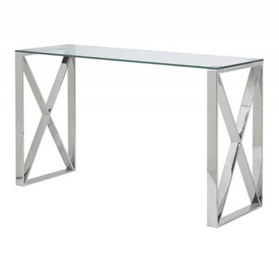 X Leg Console Table
