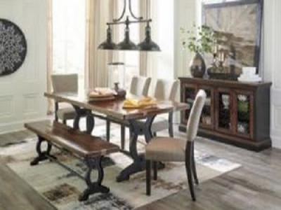 Zurani 7 pc Dinette set