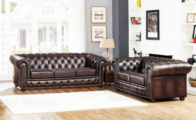 Albany Genuine Leather Sofa by Amax by Midha's Furniture Serving Brampton, Mississauga, Etobicoke, Toronto, Scraborough, Caledon, Cambridge, Oakville, Markham, Ajax, Pickering, Oshawa, Richmondhill, Kitchener, Hamilton and GTA area