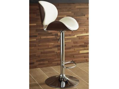 Bellatier Bar Stool (Bone Color) by Midha's Furniture Serving Brampton, Mississauga, Etobicoke, Toronto, Scraborough, Caledon, Cambridge, Oakville, Markham, Ajax, Pickering, Oshawa, Richmondhill, Kitchener, Hamilton and GTA area