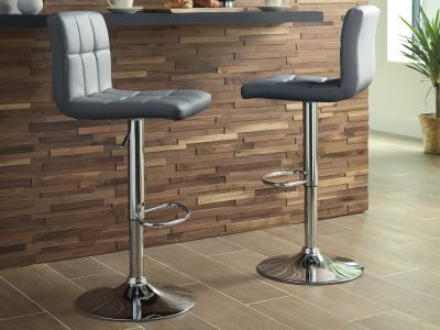Bellatier Bar Stool (Grey) by Midha's Furniture Serving Brampton, Mississauga, Etobicoke, Toronto, Scraborough, Caledon, Cambridge, Oakville, Markham, Ajax, Pickering, Oshawa, Richmondhill, Kitchener, Hamilton and GTA area