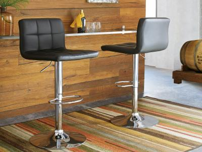 Bellatier Bar Stool by Midha's Furniture Serving Brampton, Mississauga, Etobicoke, Toronto, Scraborough, Caledon, Cambridge, Oakville, Markham, Ajax, Pickering, Oshawa, Richmondhill, Kitchener, Hamilton and GTA area