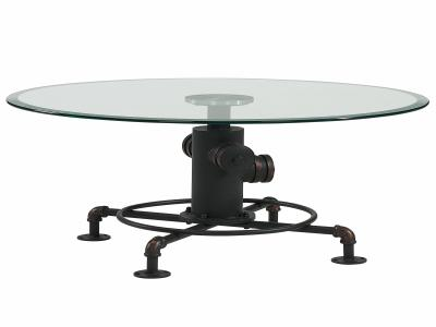 BRONX-COFFEE TABLE-ANTIQUE BLACK