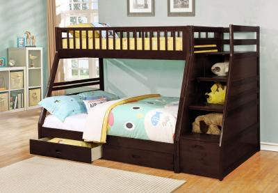 bunk bed brown