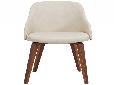 CASTILO-ACCENT CHAIR-IVORY