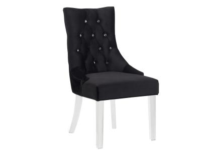 Cavalli Accent Chair Black by Midha's Furniture Serving Brampton, Mississauga, Etobicoke, Toronto, Scraborough, Caledon, Cambridge, Oakville, Markham, Ajax, Pickering, Oshawa, Richmondhill, Kitchener, Hamilton and GTA area