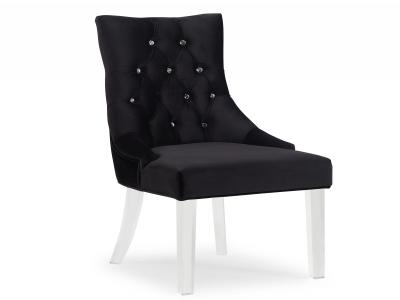 CAVALLI-ACCENT CHAIR-BLACK