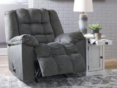 Ashley Drakestone Reclining Chair with  Hand-Held Remote by Midha's Furniture Serving Brampton, Mississauga, Etobicoke, Toronto, Scraborough, Caledon, Cambridge, Oakville, Markham, Ajax, Pickering, Oshawa, Richmondhill, Kitchener, Hamilton and GTA area