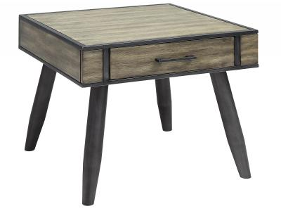 EDINBURGH-ACCENT TABLE-GREY