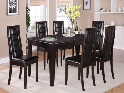 Era 7 PC Dining Set by Midha's Furniture Serving Brampton, Mississauga, Etobicoke, Toronto, Scraborough, Caledon, Cambridge, Oakville, Markham, Ajax, Pickering, Oshawa, Richmondhill, Kitchener, Hamilton and GTA area
