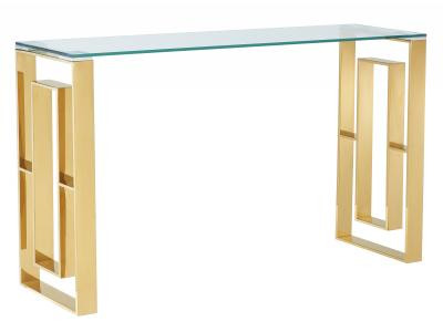 EROS-CONSOLE TABLE-GOLD