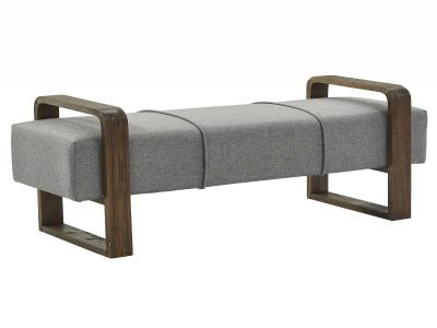 GABRIEL-DOUBLE BENCH-GREY