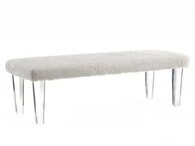 GIA-DOUBLE BENCH-WHITE