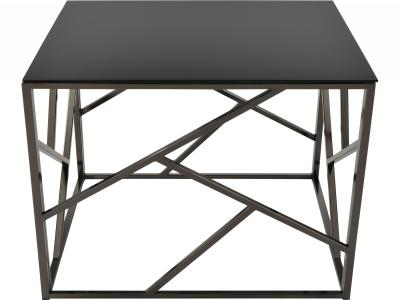 GIADA-ACCENT TABLE-BLACK NICKEL