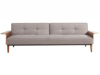 GRAYSON-CONVERTIBLE SOFA-GREY