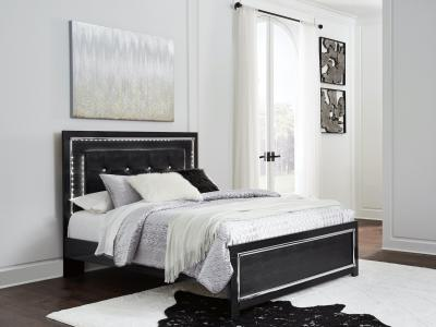 Ashley Kaydell Queen Bed with LED Accent Lighting by Midha's Furniture Serving Brampton, Mississauga, Etobicoke, Toronto, Scraborough, Caledon, Cambridge, Oakville, Markham, Ajax, Pickering, Oshawa, Richmondhill, Kitchener, Hamilton and GTA area