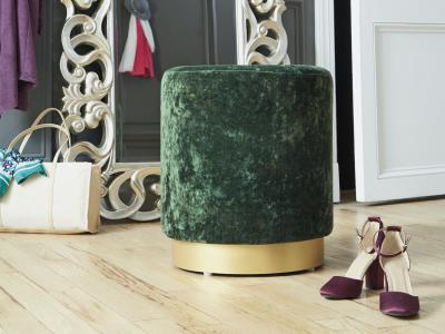 Lancer Accent Ottoman (Green) by Midha's Furniture Serving Brampton, Mississauga, Etobicoke, Toronto, Scraborough, Caledon, Cambridge, Oakville, Markham, Ajax, Pickering, Oshawa, Richmondhill, Kitchener, Hamilton and GTA area