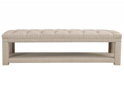 LARISSA-DOUBLE BENCH-BEIGE