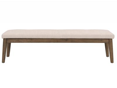 LEANNE-DOUBLE BENCH-BEIGE