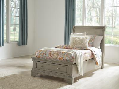 Lettner Twin Sleigh Bed By Ashley by Midha's Furniture Serving Brampton, Mississauga, Etobicoke, Toronto, Scraborough, Caledon, Cambridge, Oakville, Markham, Ajax, Pickering, Oshawa, Richmondhill, Kitchener, Hamilton and GTA area