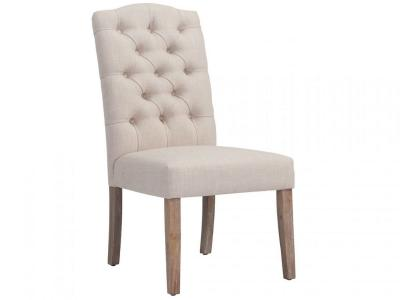 LUCIAN-SIDE CHAIR-BEIGE by Midha's Furniture Serving Brampton, Mississauga, Etobicoke, Toronto, Scraborough, Caledon, Cambridge, Oakville, Markham, Ajax, Pickering, Oshawa, Richmondhill, Kitchener, Hamilton and GTA area
