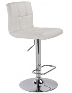 MAX-GAS LIFT STOOL-WHITE