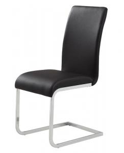 MAXIM-SIDE CHAIR-BLACK